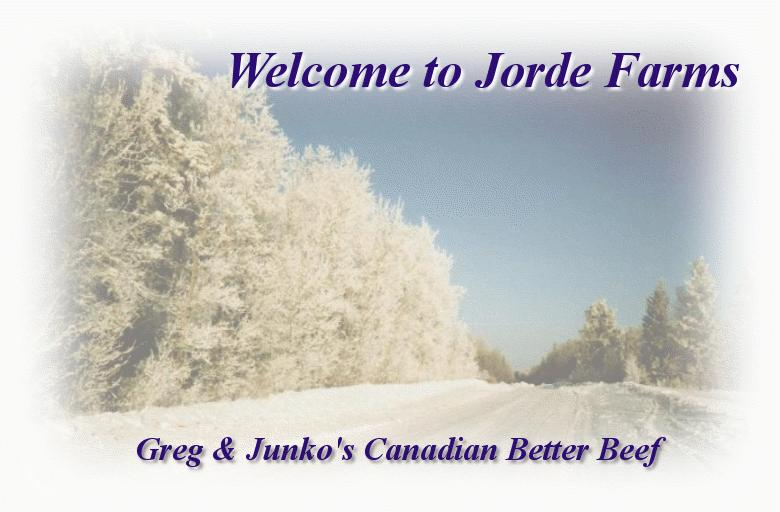 Welcome to Jorde Farms